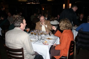 guests at scotch dinner